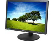 "SAMSUNG S19B420BW Mattle Black 19"" 5ms  (On/Off) LCD/LED Monitor, Pivot & Height Adjustable, 250 cd/m2 Contrast Ratio 1,000:1, D-Sub DVI"