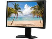 "NEC Display SpectraView P242W-BK Black 24"" Widescreen IPS Panel, LED Backlight LCD Monitor 8ms 360cd/m2, DisplayPort, USB hub, Height Adjust/Pivot/Tilt/Swivel, 4 Year Warranty"