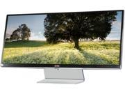 "LG 34UM95-P Black 34"" Class 5ms GTG QHD UltraWide LED Backlight LCD Monitor IPS Panel 320 cd/m2 DFC 5,000,000:1(1000:1), Dual HDMI / Dual ThunderBolt ports"