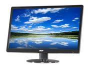 "Acer S220HQLAbd  Black 21.5"" 5ms  LED Backlight Widescreen LCD Monitor 250 cd/m2 ACM 100,000,000:1 (1000:1)"