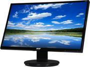 "Acer K272HUL Black 27"" WQHD 6ms HDMI DisplayPort Widescreen LED Backlight LCD Monitor Built-in Speakers"