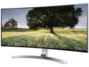 "LG 34UC98 34"" UltraWide QHD Curved IPS Monitor (3440 x 1440) FreeSync and Screen Split 2.0 Technology Thunderbolt and USB 3.0 Quick Charge"