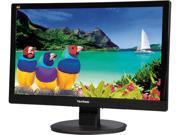 "ViewSonic VA2055SM Black 19.5"" Full HD 1080P Widescreen LED Backlight LCD Monitor 250 cd/m2 3000:1 Built-in Speakers"
