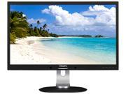 "Philips 272S4LPJCB 27"" WQHD LCD Monitor, 2560 x 1440, 2ms, 350 cd/m², DVI-D, VGA, MHL-HDMI, DisplayPort, Built-in Speakers"