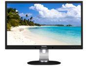 """Philips 272S4LPJCB 27"""" WQHD LCD Monitor, 2560 x 1440, 2ms, 350 cd/m², DVI-D, VGA, MHL-HDMI, DisplayPort, Built-in Speakers"""