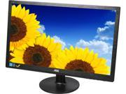 "AOC E2260SWDN Black 21.5"" 5ms Widescreen LED Backlight LCD DVI Monitor 200 cd/m2 20,000,000:1"