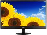 "AOC E970SWN Black with Hairline Texture 18.5"" 5ms Widescreen LED Backlight LCD Monitor"