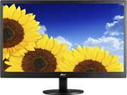 """AOC E2070SWN Black 20"""" (19.5 Viewable) 5ms Widescreen LED Backlight LCD Monitor"""