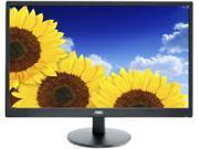 "AOC E2270SWN Black 21.5"" 5ms Widescreen LED Backlight LCD Monitor"