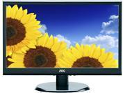 """AOC E2250SWDAK Black 21.5"""" 5ms Widescreen LCD Monitor"""