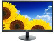 "AOC E2470SWHE Black 23.6"" 5ms HDMI LCD Monitor"