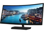 "AOC C3583FQ 35"" LCD HD 21:9 Ultrawide Monitor Black/Silver C3583FQ"