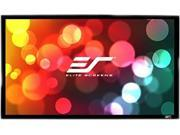 "Elite Screens SableFrame ER120WH1-A1080P3 Fixed Frame Projection Screen - 120"" - 16:9 - Wall Mount"