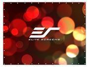 "Elite Screens DIY Pro DIY251RH1 Projection Screen - 251"" - 16:9 - Surface Mount, Wall Mount"