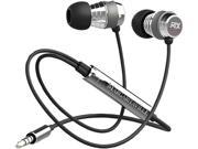 Margaritaville Black MIX2 BLACK 3.5mm Connector In-ear Monitor Headphones With Microphone (black Sand)