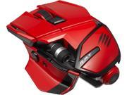 Mad Catz Office R.A.T. MCB437240013/04/1 Red 1 x Wheel Bluetooth Wireless Laser Mouse for PC, Mac, and Android
