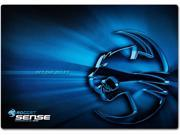 ROCCAT SENSE 2mm High Precision Gaming Mousepad, Chrome Blue