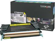 Lexmark C736H4YG High Yield Return Program Toner Cartridge - Yellow
