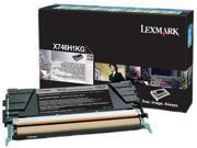 Lexmark X746H1KG Black Toner Cartridge
