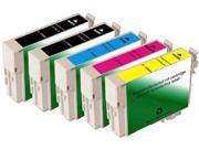 Green Project Compatible Ink Cartridge Replacement for Epson (2pc. T0881 , 1pc. T0882 , 1pc. T0883 , 1pc. T0884) 5 Pack