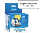 DYMO 30321 Address Labels, 1-2/5 x 3-1/2, White, 520/Box