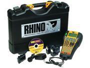 DYMO S0771940 Thermal Transfer Printer Rhino 6000 Hard Case Kit Labelmaker