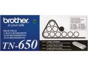 Brother TN650 Toner Cartridge High Yield 8,000 Page Yield&#59; Black