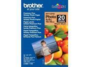 Brother Inobella Glossy Photo Paper White BP71GP20