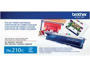 Brother Genuine TN210C Cyan Toner Cartridge - Laser - 1400 Pages - Cyan - 1 Each