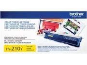 Brother TN210Y Toner Cartridge 1,400 Page Yield&#59; Yellow
