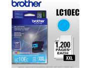 Brother LC10EC Super High Yield Ink Cartridge - Cyan