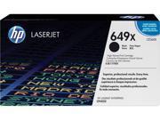 HP 649X High Yield LaserJet Toner Cartridge - Black