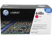 HP 648A Magenta LaserJet Toner Cartridge (CE263A)