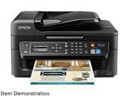 Epson Factory Recertified Workforce WF-2630 9/4.7- iso ppm 5760 x1440dpi 100-sheet Enet/USB/WIFI Color Inkjet Printer/Copier/Scanner/Fax Same-as-New/1YR