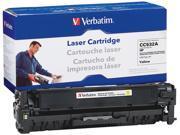 Verbatim Remanufactured Toner Cartridge Replacement for HP CC532A, Yellow