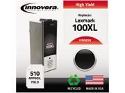 Innovera IVR0820 Black Compatible Reman High-Yield  Ink Cartridge