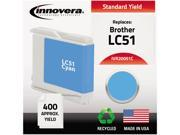 Innovera 20051C Compatible Remanufactured LC51C Ink Cyan
