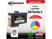 Innovera D7Y745C Compatible Remanufactured 7Y743 (Series 2) Ink Tri-Color