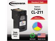 Innovera IVRCL211 3 Colors Ink Cartridge