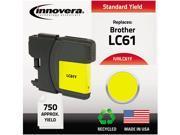 Innovera IVRLC61Y Yellow Ink Cartridge