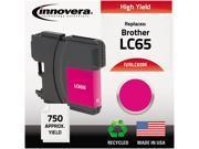 Innovera IVRLC65M Magenta Ink Cartridge