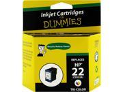 Ink for Dummies DH-22(C9352AN) 3 Colors Ink Cartridge Replaces HP 22 (C9352an)
