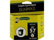 Ink for Dummies DH-57(C6657an) 3 Colors Ink Cartridge Replaces HP 57 (C6657an)