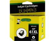 Ink for Dummies DH-61XLBK(CH563WN) Black Ink Cartridge Replaces HP 61XL (CH563WN)