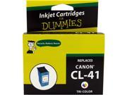 Ink for Dummies DC-CL41CL 3 Colors Ink Cartridge Replaces Canon CL-41 (0617B002)