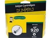 Ink for Dummies DH-920BK(CD971AN) Black Ink Cartridge Replaces HP 920BK (CD971AN)