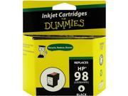 Ink for Dummies DH-98(C9364WN) Black Ink Cartridge Replaces HP 98 (C9364WN)