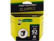 Ink for Dummies DH-92(C9362WN) Black Ink Cartridge Replaces HP 92 (C9362WN)
