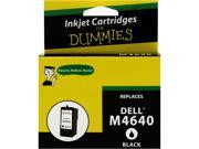 Ink for Dummies DD-M4640 Black Ink Cartridge Replaces Dell Series 5 (M4640)