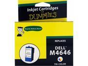 Ink for Dummies DD-M4646 3 Colors Ink Cartridge Replaces Dell Series 5 (M4646)